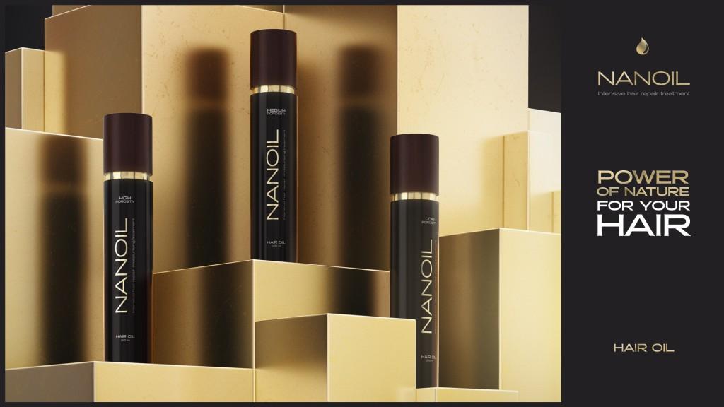 Vlasové oleje pre každý typ vlasov Nanoil