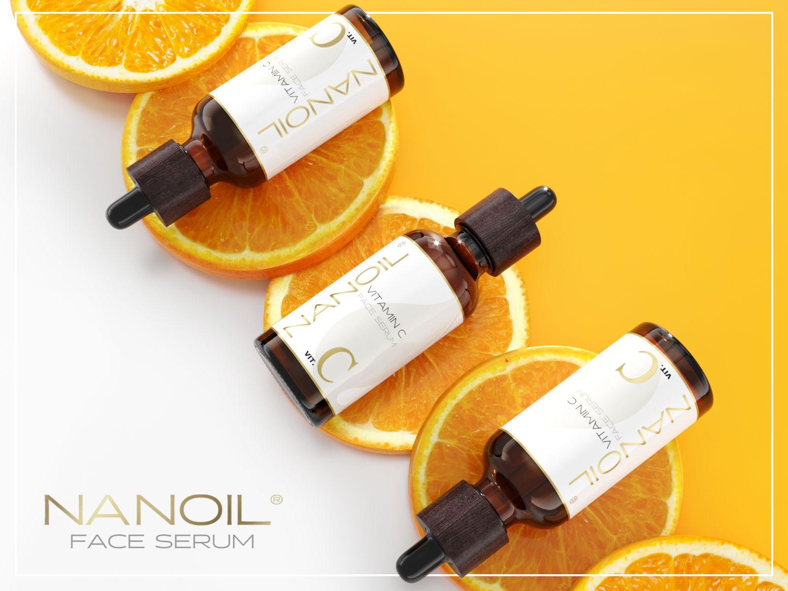 Hladká a oslnivá pleť lusknutím prstov! Tak funguje pleťové sérum s vitamínom C od Nanoilu.